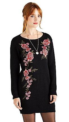 fd2bef4b28d black - Jumper dresses - Yumi - Dresses - Sale