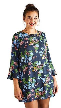 11b54a7640d 3/4 sleeves - Short - Yumi Curves - Dresses - Women | Debenhams