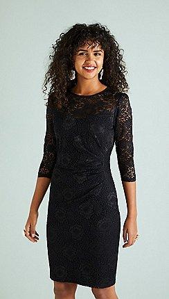 f2b976dea47c Knee length - black - Lace dresses - Dresses - Women | Debenhams