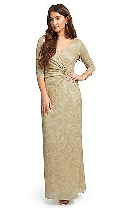 11b8825473b 3 4 sleeves - Wedding guest - Wrap dresses - Dresses - Women