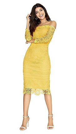 4ec8591b213 yellow - Wedding guest - Paper Dolls - Dresses - Women