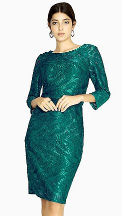 Green Wedding Guest Dresses   Debenhams
