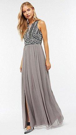 Monsoon Silver Celeste Embellished Maxi Dress