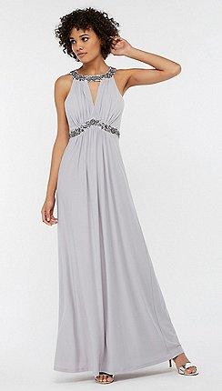 Grey Lace Bridesmaid Dresses | Bridesmaid Dresses Debenhams