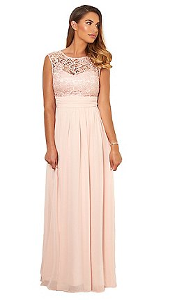 856093373d41 pink - Party   going out - Maxi dresses - Dresses - Women