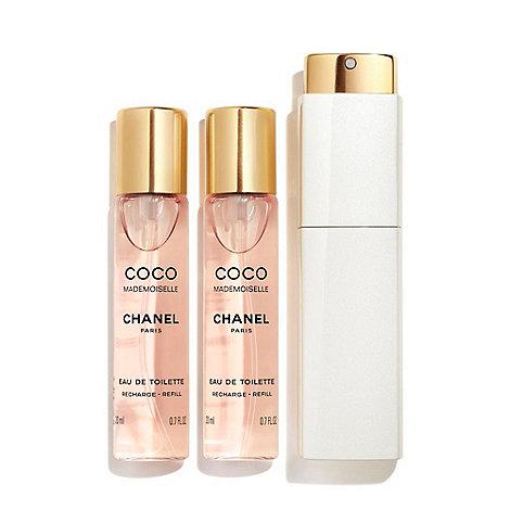 CHANEL - COCO MADEMOISELLE Eau De Toilette Twist And Spray 3x20ml