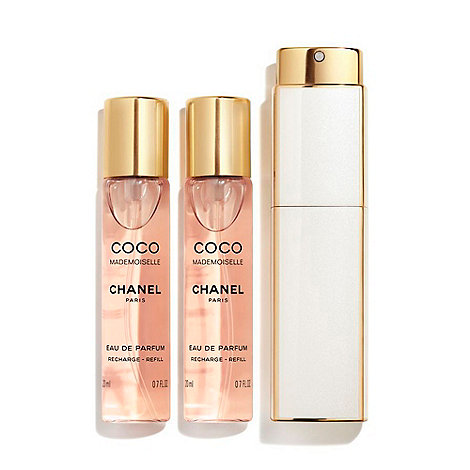 CHANEL COCO MADEMOISELLE Twist And Spray Eau de Parfum 3x20ml ... 008917e8d699