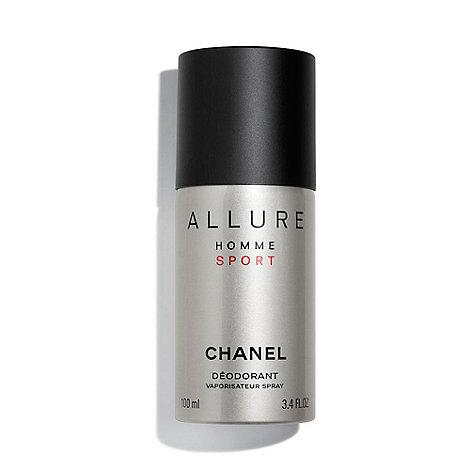 944fec9f1b7aa0 CHANEL ALLURE HOMME SPORT Spray Deodorant   Debenhams