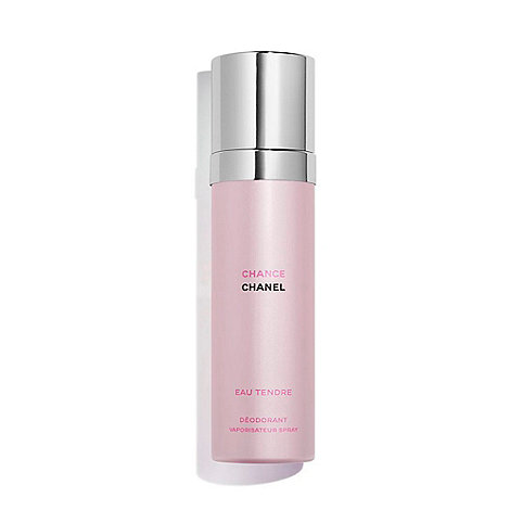 CHANEL - CHANCE EAU TENDRE Spray Deodorant 100ml