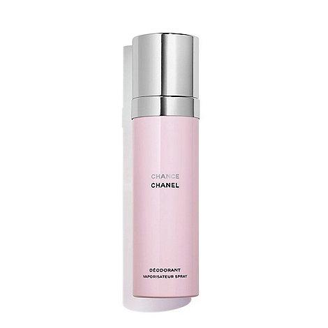 CHANEL - CHANCE Deodorant Natural Spray